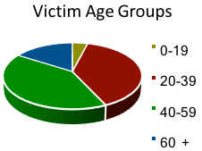 Cybercrime Victim Age Group Graph